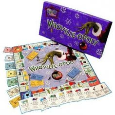 Whoville-opoly Monopoly Style Board Game. ahhh!! xmas list!!