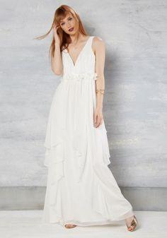 vestido de noiva barato de modcloth online com decote em bico estilo ninfa 2 - 175