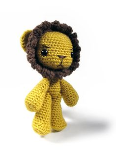 Arthur The Lion Amigurumi Pattern