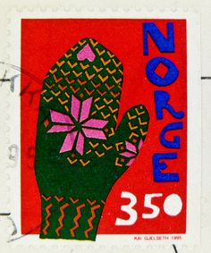 Postage stamp Norway