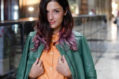 Eleonora Carisi, international blogger among the most appreciated it girls of Grazia, is wearing a SS13 capsule Collection Aiguille Noire by CO|TE total look photographed by Elena Braghieri