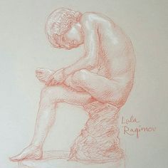 2015 Spinario at the Getty Power and Pathos ancient bronzes show from Musei Capitolini Rome musei in comune roma Pitt pastel pencil  sanguine spinario hellenistic power and pathos bronze sculpture redchalk  sculpture drawing  Hellenistic classicalart figurative figurative art boy power and pathos figure drawing life drawing gettyinspired drawing interior design cast drawing nude interiordecor sketchbook art  рисунок  обнаженка academic drawing academic art realistic art
