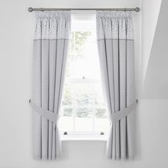 Grey Pencil Pleat Curtains, Pleated Curtains, Grey Curtains, Blackout Curtains, Nursery Curtains, Kids Curtains, Dumbo Nursery, Types Of Curtains