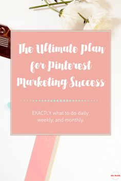 What to do daily, weekly, and monthly for the best Pinterest Marketing ever. Get the downloadable checklist for your or your VA! via @alisammeredith