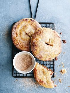 cheese dessert recipes, diabetic desserts recipe, caramel dessert recipes - pear and caramel hand pies from donna hay