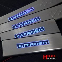 64.39$  Watch here - http://alisyw.worldwells.pw/go.php?t=32735652212 - For Citroen C4 LED External Door Sill for  2012 2013 2014   Citroen C4 Scuff Plate Welcome Pedal Car styling 64.39$