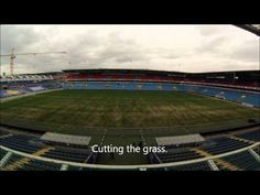 Timelaps Ullevaal Stadion April 2013 The video is made with a GoPro There are over 5000 images taken every 5 seconds for a period of eight hour. The timelapse movie is put together and customized with GoPro Cineform Studio 5 Seconds, Gopro, Period, Windows, Movies, Image, Films, Window, Film