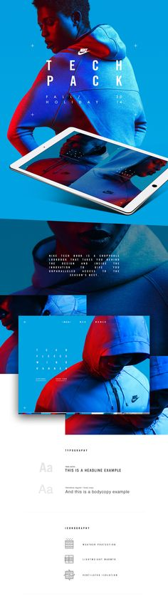 Nike Tech Pack in store app on Behance Email Design, App Design, Layout Design, Design Tech, Rodney King, Applications Mobiles, Nike Design, Tech Pack, Nike Tech