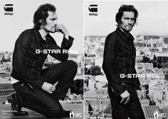 Vincent Gallo for G-Star