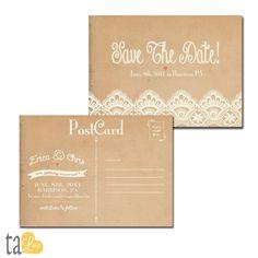 Hey, diesen tollen Etsy-Artikel fand ich bei http://www.etsy.com/listing/124200352/vintage-rustic-lace-wedding-save-the