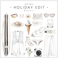 The Lust List: 4th of July Holiday -White