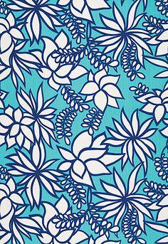 Kalaheo in Aqua by Trina Turk for Schumacher Fabrics