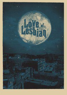 Love Of Lesbian  Tour, 2013  de Error! Design