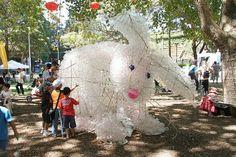 PET plastic bunny by dryasadingo, via Flickr
