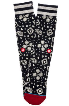 Stance Socks The Compound in Navy Blue