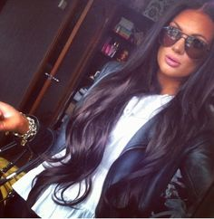 I will have my hair this long