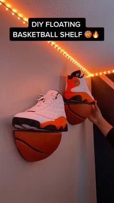 footlocker on Instagram: DIY Basketball shelf by @motivatedbymylan 🔥