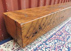 "Reclaimed Pine Barn Beam Mantel or Mantle Shelf 61"" x 6"" x 4"" - Rustic Barn Wood Shelf - Vintage Fireplace Mantel - Pine Shelf - Home Decor by RusticbiltDecor on Etsy"