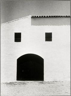 Visage (façade de maison blanche), Jerez Auteur : Brassaï (dit), Halasz Gyula (1899-1984)