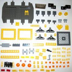 #LEGO #TECHNIC #MINDSTORMS #SET7249 SPARE PARTS #EASTER LEGO 7249 Yellow Technic Beam 32532 4151 Brick XXL Crane 2905 1x10 1x6 30295