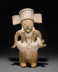 Ball Player, 7th–10th century. Mexico, Mesoamerica, Veracruz. Nopiloa. The Metropolitan Museum of Art, New York. Purchase, Harris Brisbane Dick Fund, 1989 (1989.28)