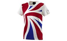 This Team GB Adidas T-shirt comes courtesy of top British designer Stella McCartney. but is made in Turkey Stella Mccartney Team Gb, London Souvenirs, London Marathon, Sport Wear, Olympics, How To Make, How To Wear, Tees, My Style