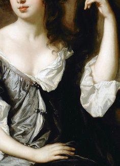 Sir Peter Lely,Louise de Kérouaille, Duchess of Portsmouth (detail)