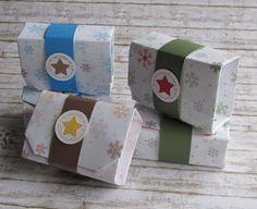 Origamibox Schneeflocke von FrolleinKarLa auf Etsy