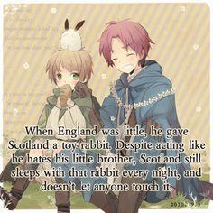 Hetalia_Headcanon_ England and Scotland. Awwwwww !!! ^_^