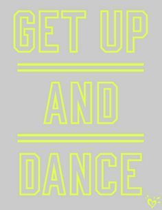 Justice is your one-stop-shop for on-trend styles in tween girls clothing & accessories. Shop our Neon Dance Tank. You Should Be Dancing, Dancer Quotes, Love Dance, Words Quotes, Sayings, Monday Quotes, Lettering, Dance Studio, Mellow Yellow
