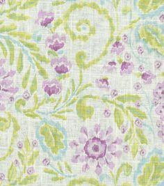 Home Decor Print Fabric-Dena Layla Heather & Print Fabric at Joann.com