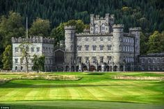 Taymouth Castle, Perthshire Scotland. Queen Victoria spent her honeymoon here.