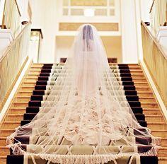 beautiful way to capture a veil train or dress train    Melody Ybona Gawliu finds http://melodyybonagawliu.com