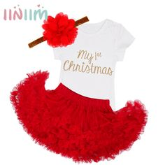 ac12efe1e8874 3Pcs NewBorn Baby Clothes Autumn Winter Summer Cotton Baby Rompers Next  Kids Infant Clothes Sets Christmas Baby Girls Costume   Price   19.98    FREE ...