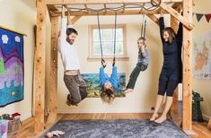 This Family Traded Mattresses for Monkey Bars - Katy Bowman