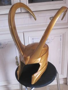 Crafty Mischief: Loki Helmet Tutorial. the thing is i just want this helmet. like, in my house.