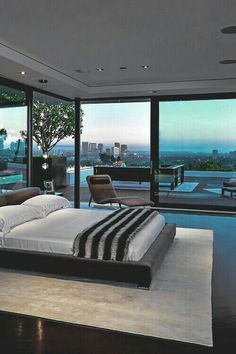 Black Bedroom Ideas, Inspiration For Master Bedroom Designs Bedroom Interior Design with a view of Pool Home Bedroom, Bedroom Decor, Bedroom Ideas, Design Bedroom, Bedroom Lighting, Bedroom Inspiration, Girls Bedroom, Dream Bedroom, Daily Inspiration