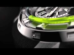 HYT H1 Hydro Mechanical Titanium Watch. Only $45000, that's chump change for you.