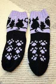 Knitting Charts, Knitting Socks, Hand Knitting, Knit Socks, Stray Cats, Boot Toppers, Cozy Socks, Cat Crafts, Boot Cuffs