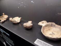 Wooden vessels. Hedeby Viking Museum. Photo by medicusmatt