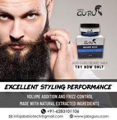 Buy Jabs Guru Beard Wax Online in India @ Cheap Rates Perfect Beard, Beard Love, Best Beard Wax, Beard Shapes, Cypress Oil, Natural Beard Oil, Frizz Control, Smart Styles, Beard No Mustache