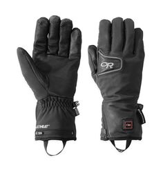 The breathable, windproof GORE® WINDSTOPPER® and ALTIHeat™ battery-powered heating technology of the versatile StormTracker Heated Gloves spar with the most heinous weather. Climbing Gloves, Ski Touring, Outdoor Research, Work Gloves, Ski And Snowboard, Gore Tex, Outdoor Outfit, Skiing, Snowboarding