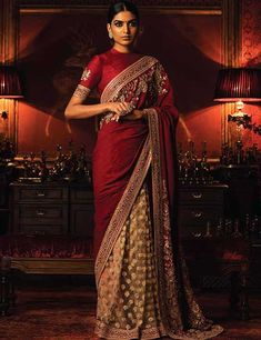 Nothing can beat a woman's beauty in a saree with matching blouse. Here are 50 latest and beautiful saree blouse designs that are suitable for every woman.