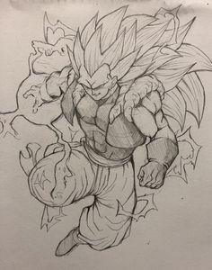 Manga Tattoo, Z Tattoo, Small Dragon Tattoos, Dragon Tattoo Designs, Dragon Z, Dragon Ball Gt, Mega Anime, Dbz Drawings, Drawing Superheroes