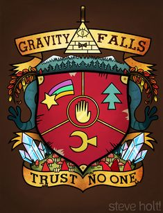 WeLoveFine is hosting a Gravity Falls contest so it seemed like a good enough motivation to flesh out some concepts. Gravity Falls © Disney