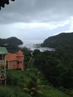 View of a cove on the Island of St. Lucia.  This was the location of where Dr. Doolittle was filmed.  Pictures taken during a cruise aboard the Jewel of the Seas.  Photo taken by Magnified Vacations CruiseOne of Avon, IN.