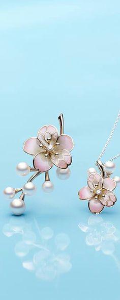 Mikimoto Cherry Blossoms Pearls.