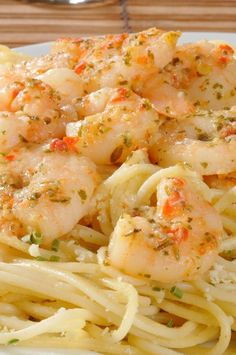 The Best Pinterest Recipes: Lemony Shrimp Scampi Pasta