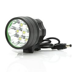 Bicycle Light   Headlight - 7x Cree XM-L2 T6, 2100 Lumen Cool White Beam, IPX6 Water Resistant >>> Click on the image for additional details.