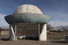 Soviet Bus Stop from a series by Christopher Herwig